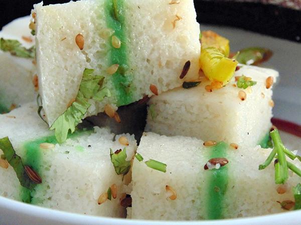 Sandwich Dhokla (Khaman)Recipe